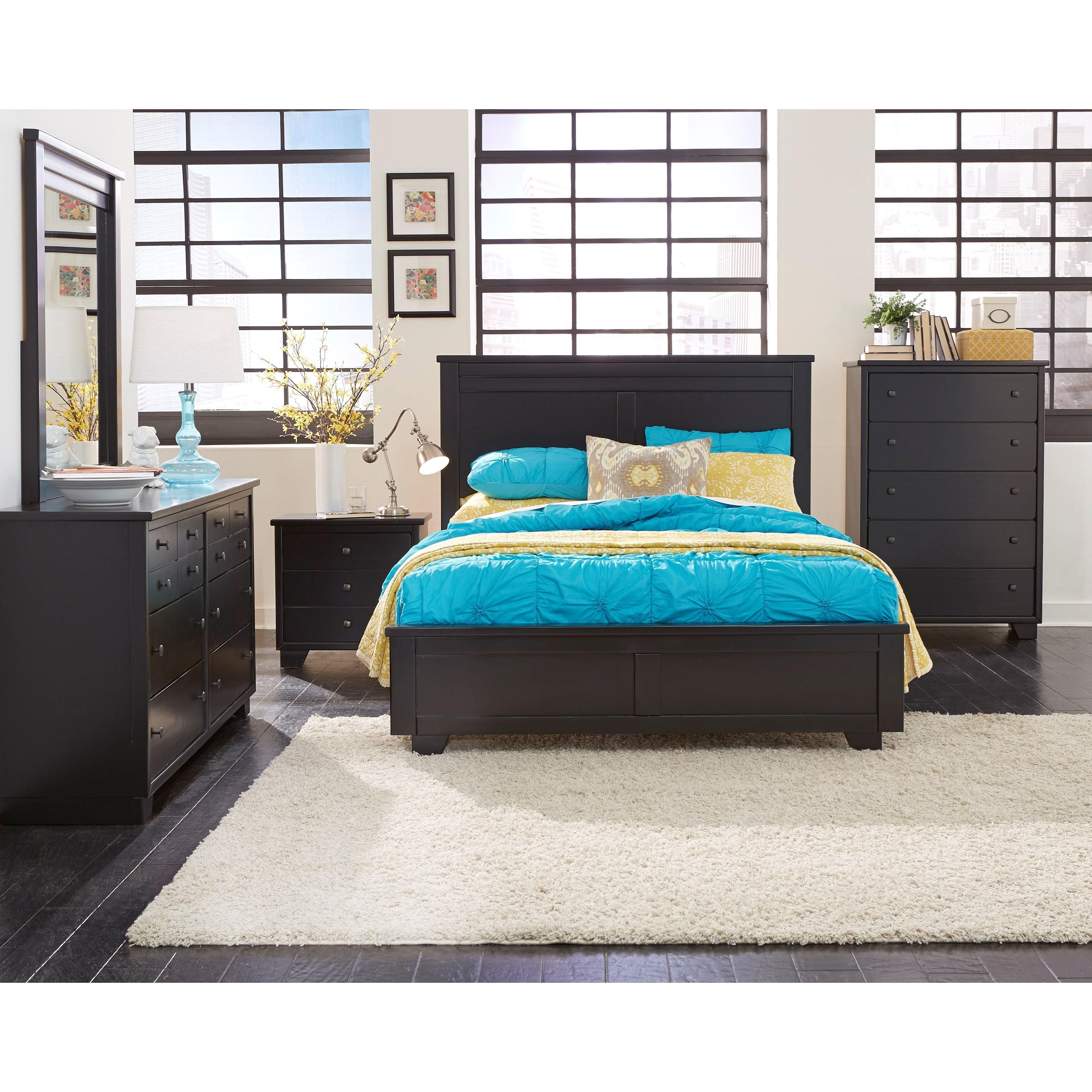 Progressive Furniture Diego Full Bedroom Group - Item Number: P619 F Bedroom Group 1