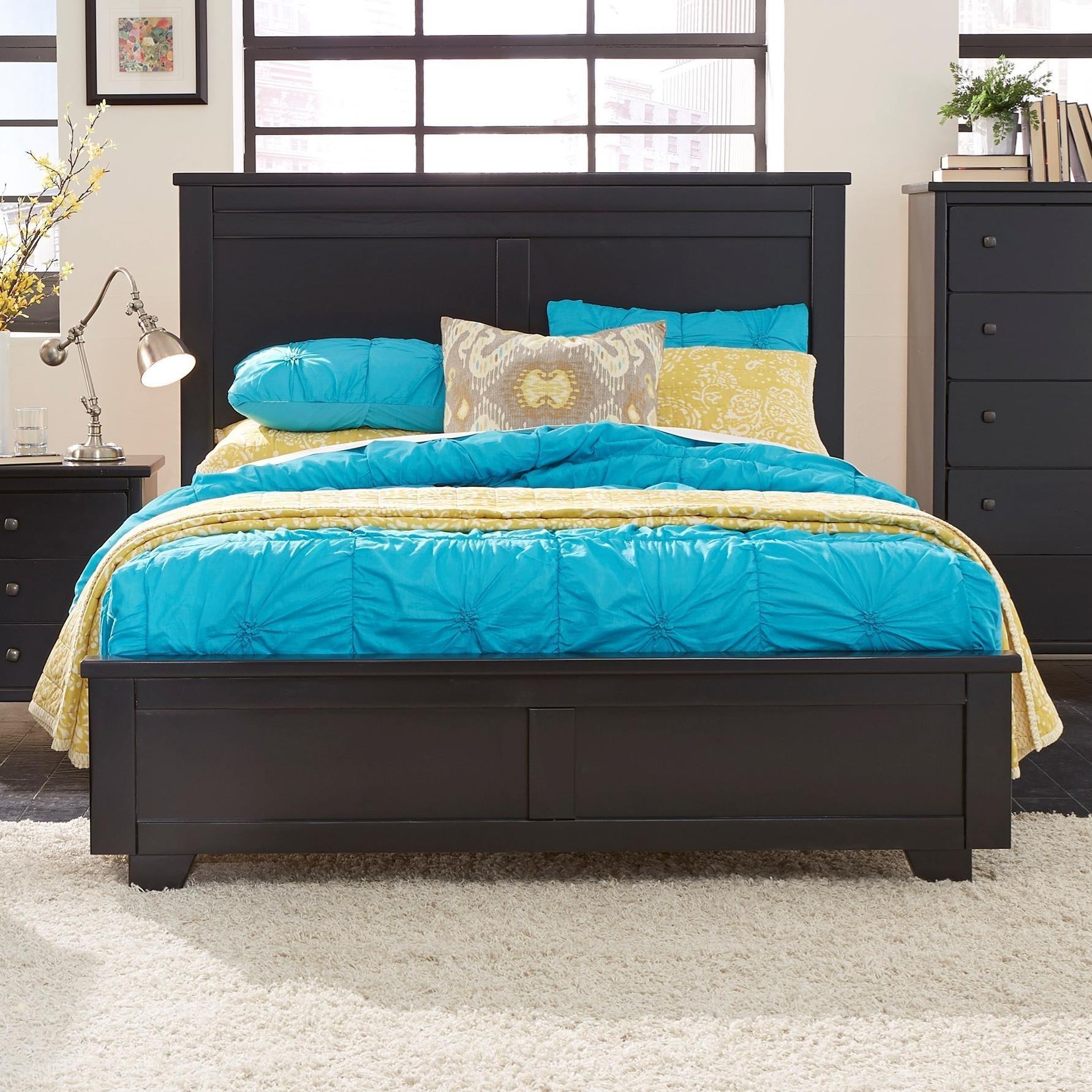 Progressive Furniture Diego King Panel Bed - Item Number: P619-94+95+97