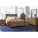 Progressive Furniture Diego Full/Queen Panel Headboard - Image Shown May Not Represent Bed Size Indicated