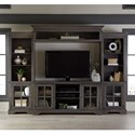 Progressive Furniture Dilworth Entertainment Wall Unit - Item Number: E727-20+66+22+90