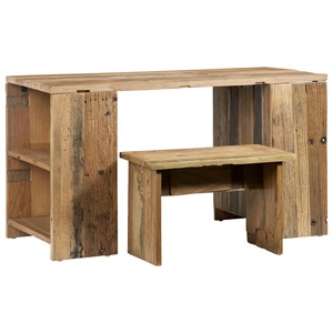 Desk and Bench