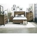 Progressive Furniture Editor Queen Bedroom Group - Item Number: B150 Q Bedroom Group 1