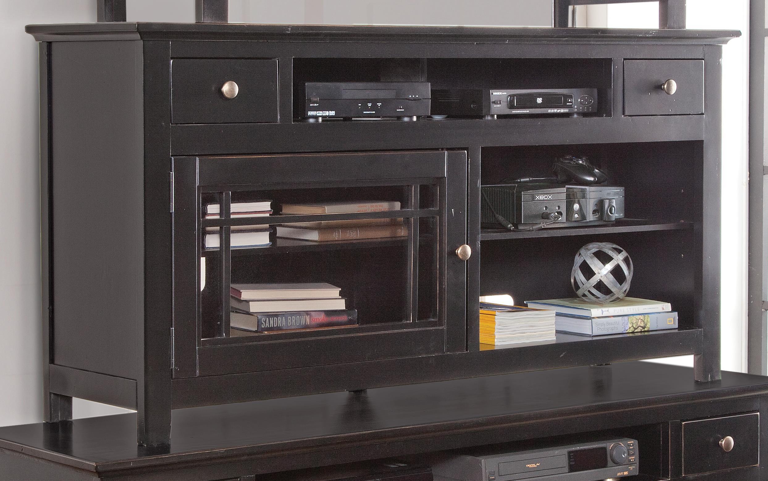 "Progressive Furniture Emerson Hills 64"" Console - Item Number: P754-64B"