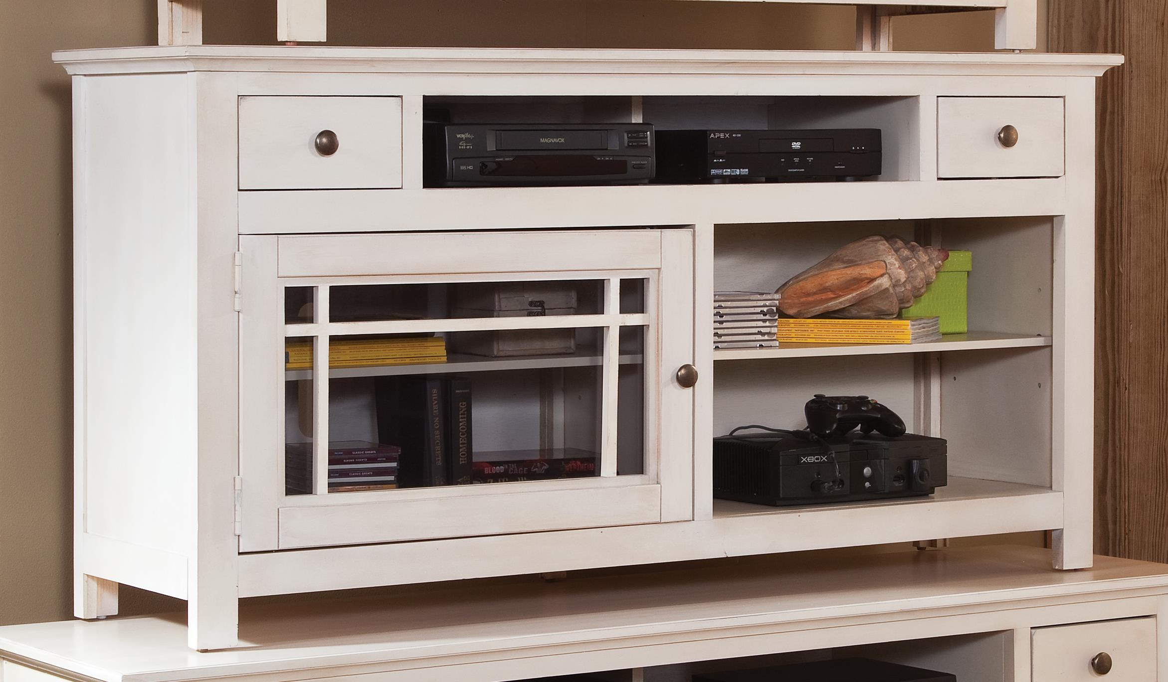 "Progressive Furniture Emerson Hills 64"" Console - Item Number: P754-64W"