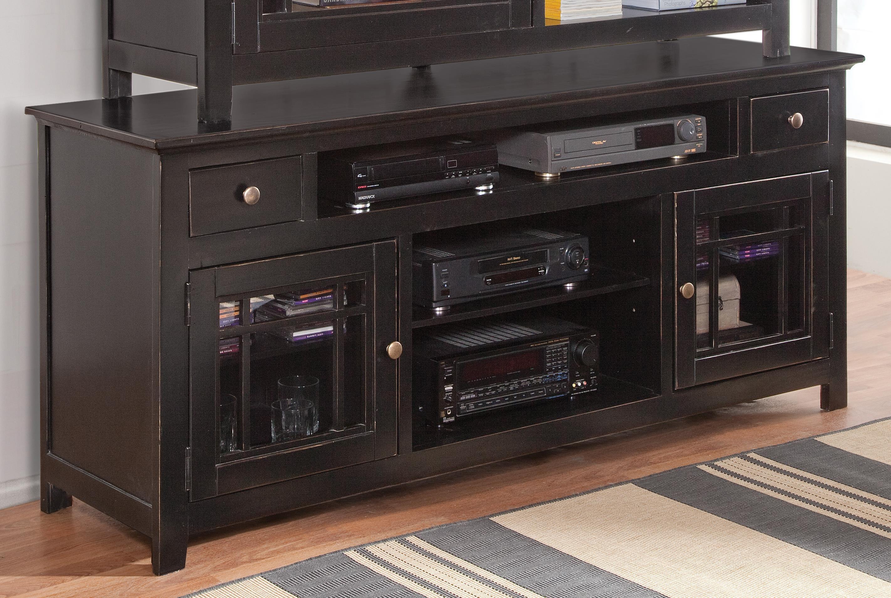 "Progressive Furniture Emerson Hills 74"" Console - Item Number: P754-74B"