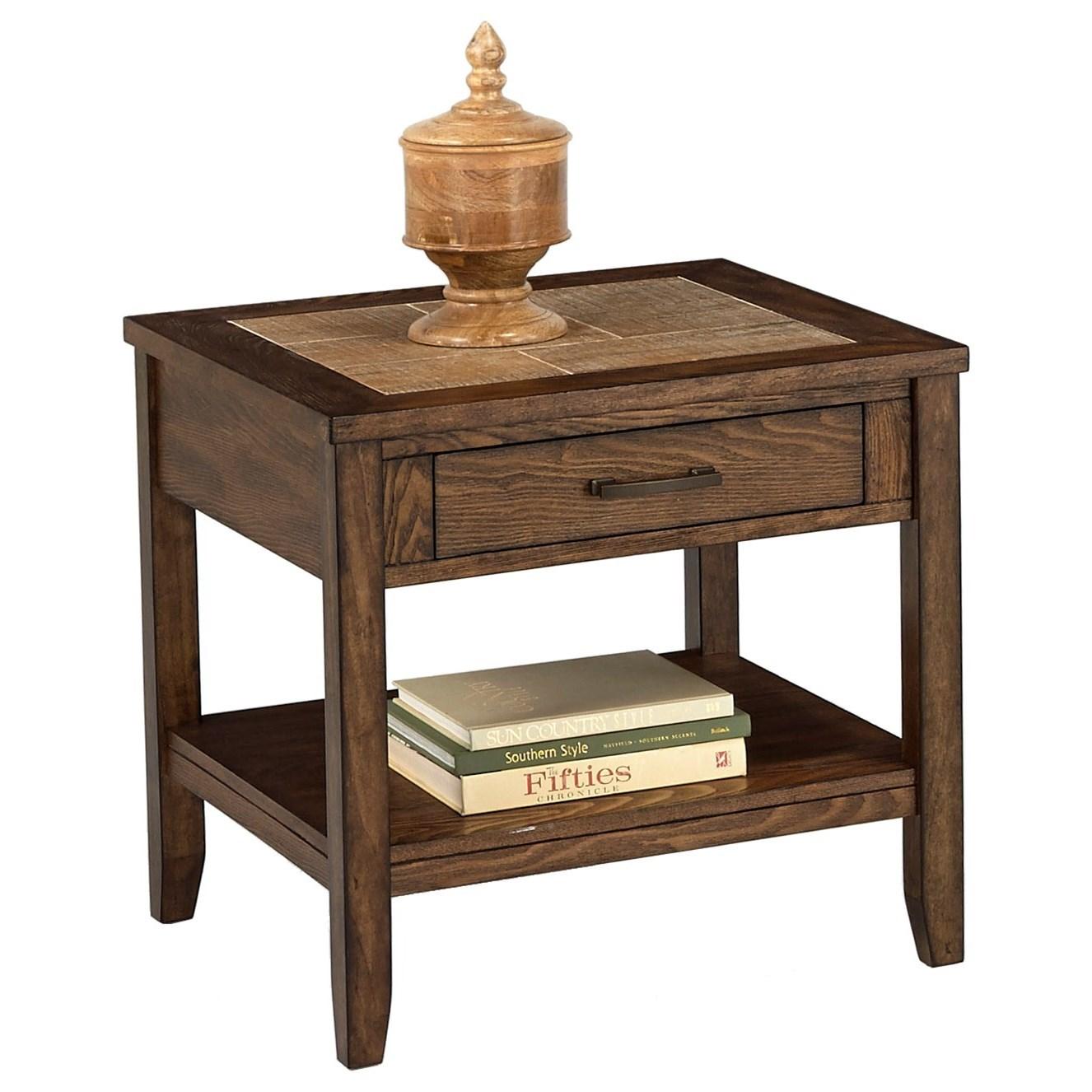 Progressive Furniture Forest Brook Rectangular End Table - Item Number: P378T-04
