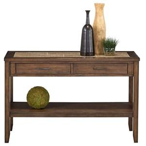 Progressive Furniture Forest Brook Sofa/Console Table