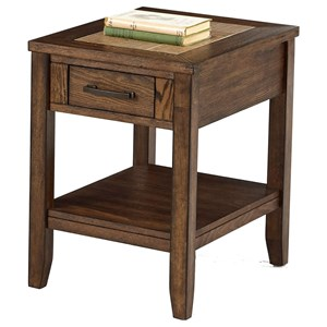 Progressive Furniture Forest Brook Chairside Table