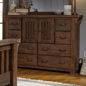 Progressive Furniture Forrester Door Dresser