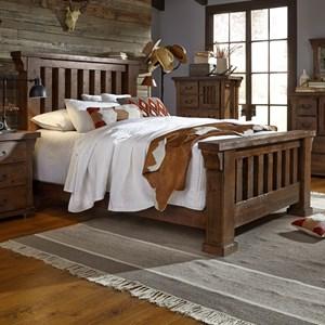 Progressive Furniture Forrester Queen Slat Bed
