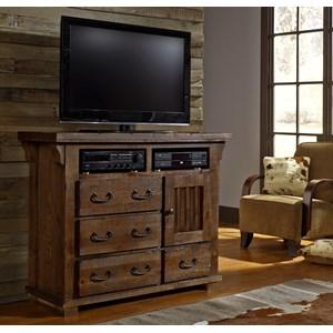 Progressive Furniture Forrester Media Chest