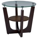 Progressive Furniture Four-Points End Table - Item Number: T332-04