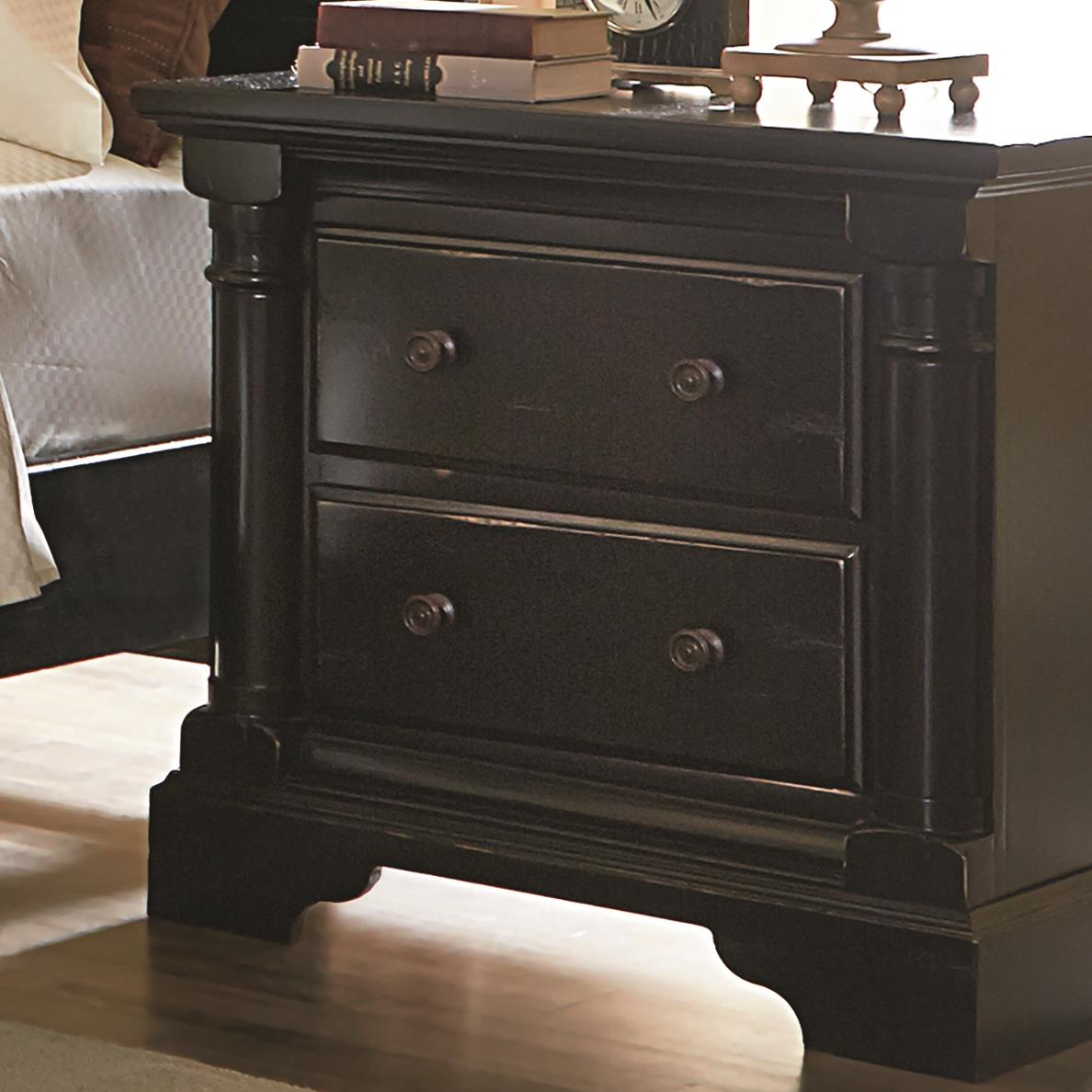 Progressive Furniture Gramercy Park Night Stand - Item Number: P659-43
