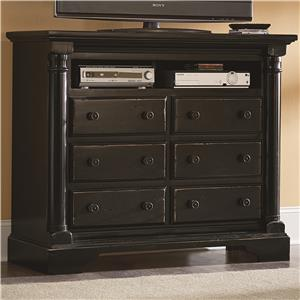Progressive Furniture Gramercy Park Media Chest