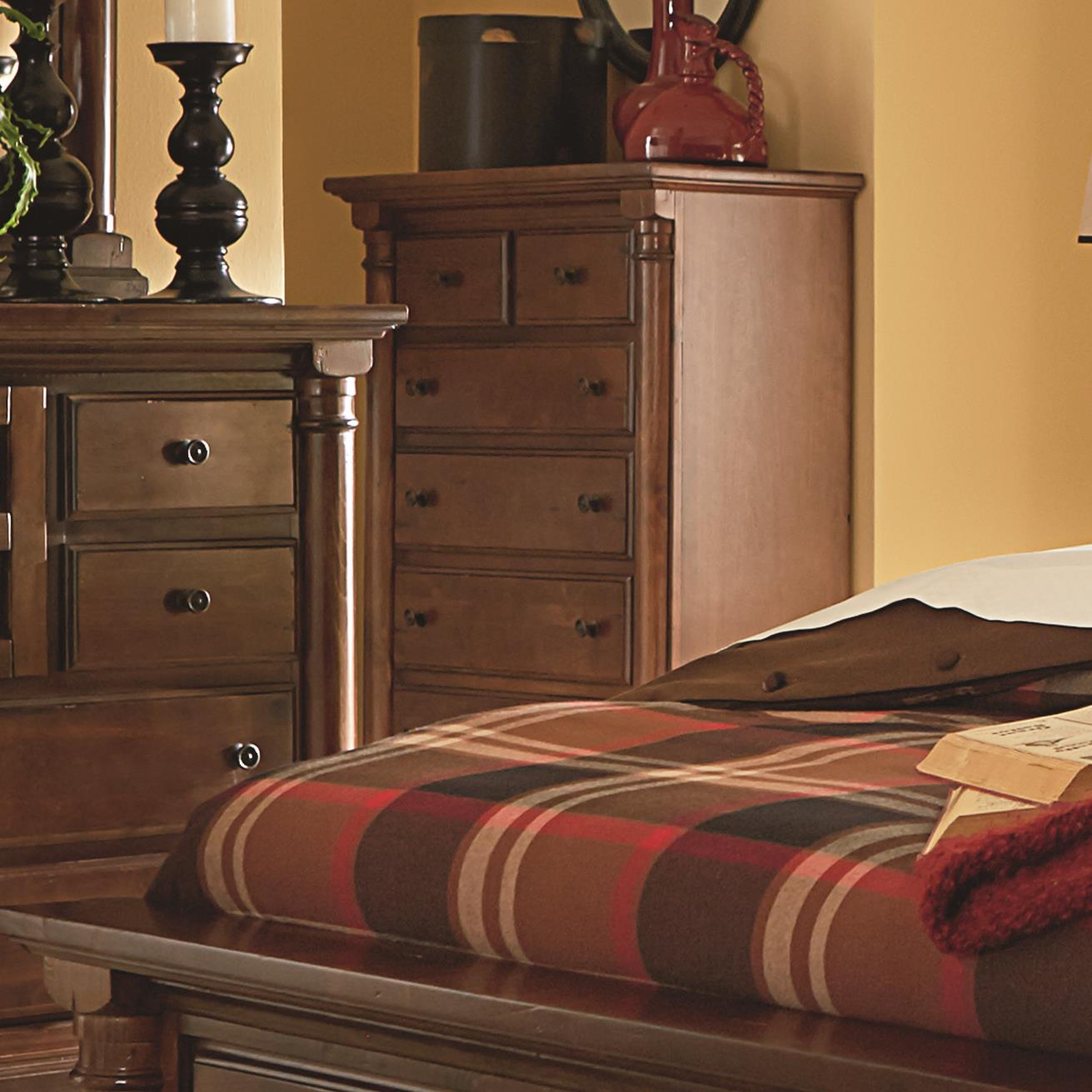 Progressive Furniture Gramercy Park Chest of Drawers - Item Number: P660-14