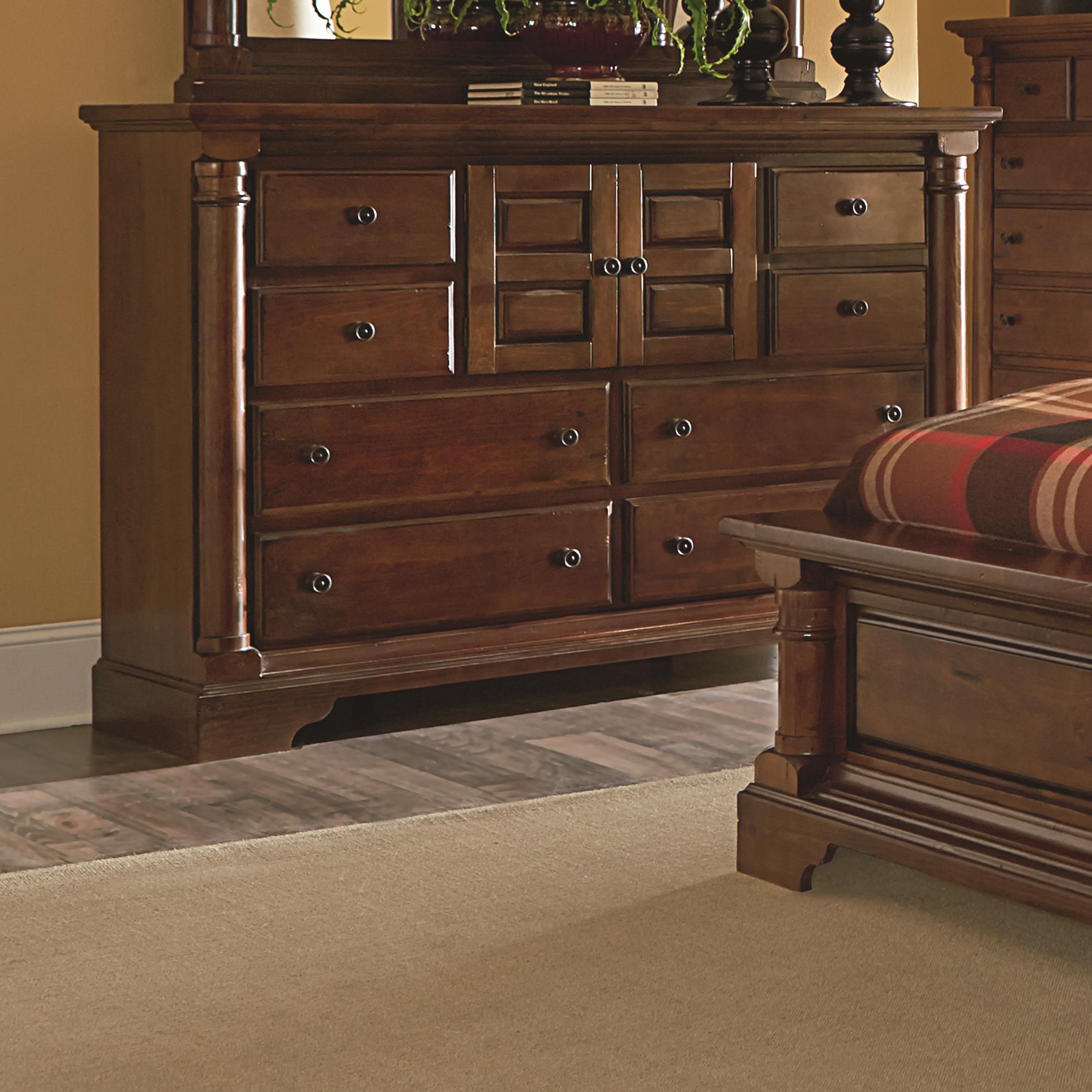 Progressive Furniture Gramercy Park Dresser - Item Number: P660-24