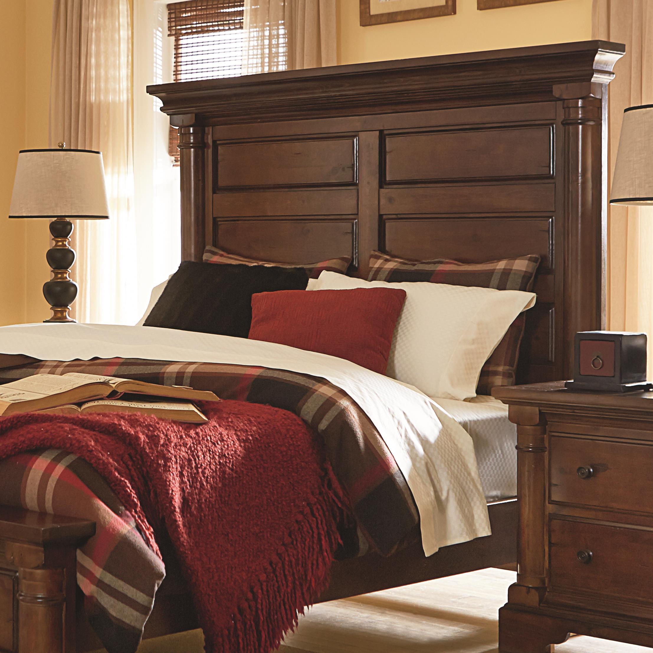 Progressive Furniture Gramercy Park Queen Panel Headboard - Item Number: P660-34