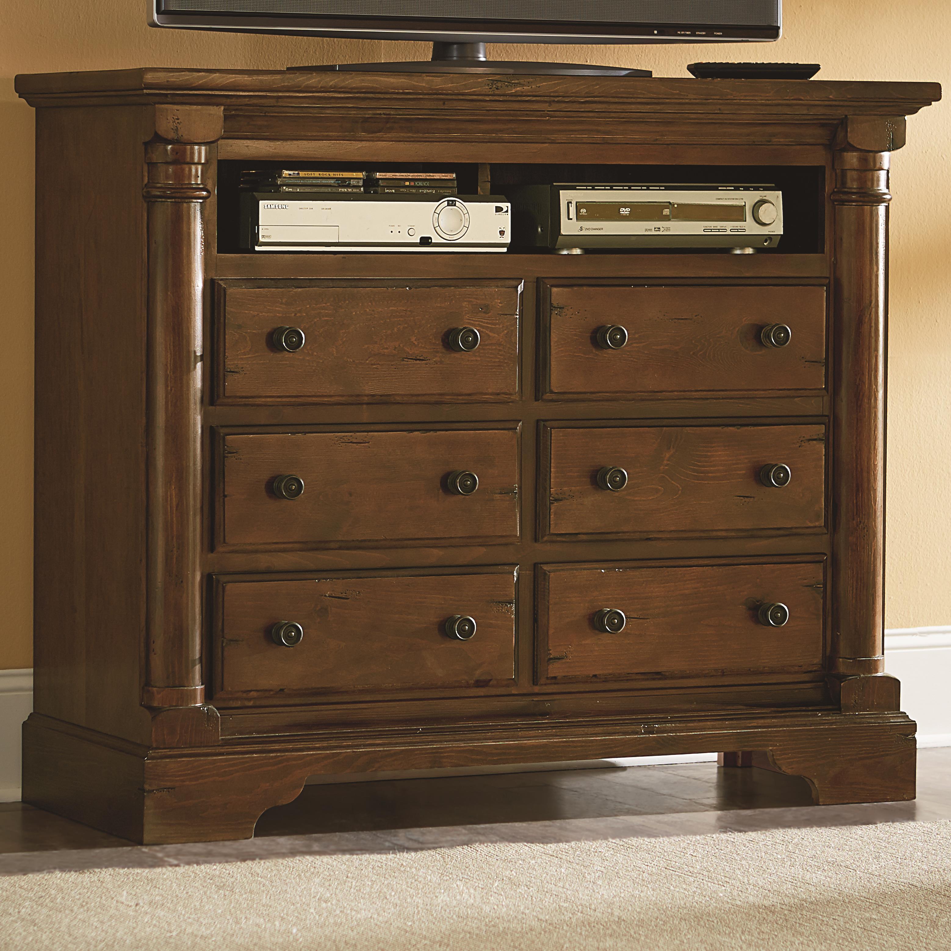 Progressive Furniture Gramercy Park Media Chest - Item Number: P660-46