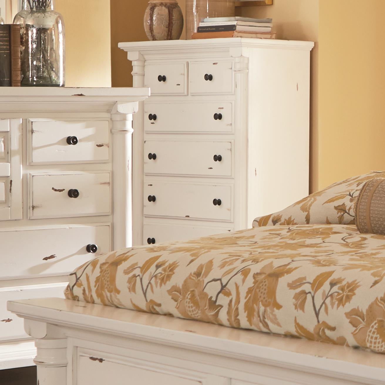 Progressive Furniture Gramercy Park Chest of Drawers - Item Number: P661-14