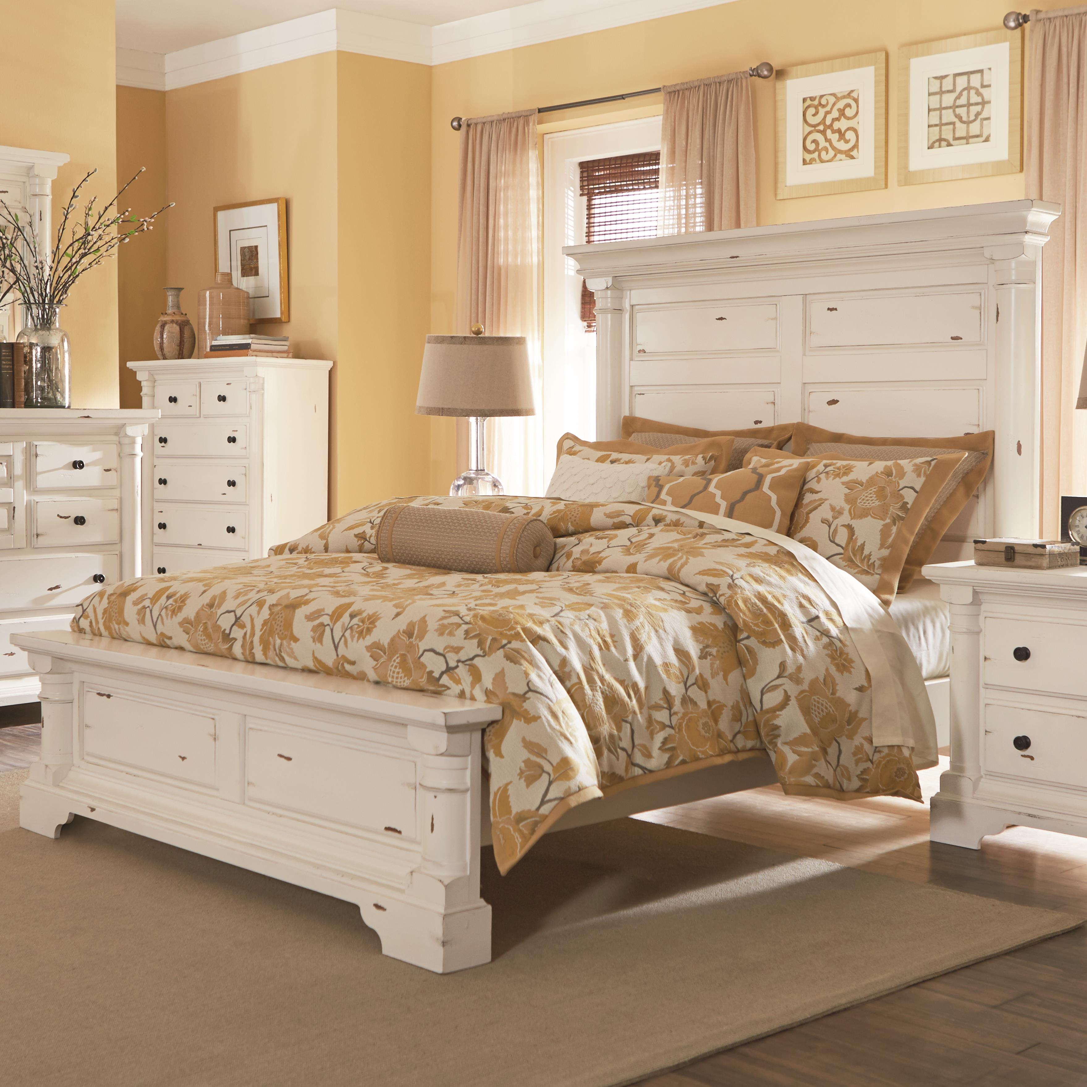 Progressive Furniture Gramercy Park King Panel Bed - Item Number: P661-94+97+78
