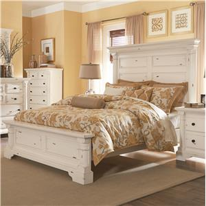 Progressive Furniture Gramercy Park Queen Panel Bed