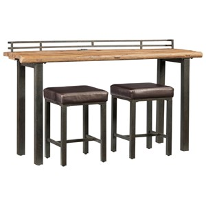 3-Piece Table and Stool Set