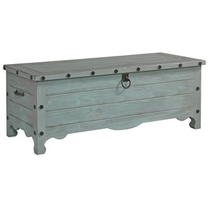 Progressive Furniture Jesse Storage Trunk