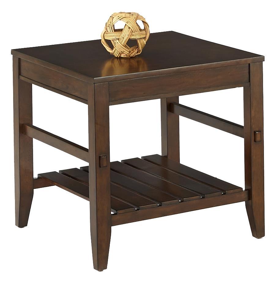 Progressive Furniture Jupiter Key Rectangular End Table - Item Number: P390-04