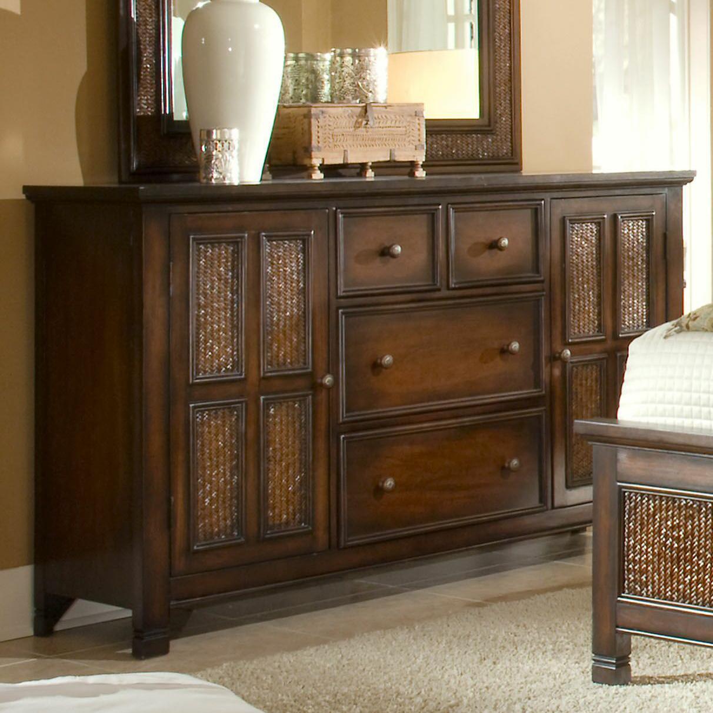 Progressive Furniture Kingston Isle Door Dresser - Item Number: P195-24