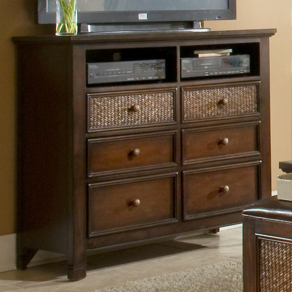Progressive Furniture Kingston Isle Media Chest - Item Number: P195-46