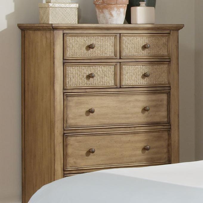 Progressive Furniture Kingston Isle Chest - Item Number: P196-14