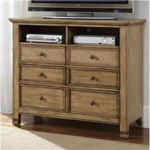 Progressive Furniture Kingston Isle Media Chest