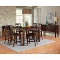 Progressive Furniture Kinston Dining Room Group - Item Number: D814 Dining Room Group 2