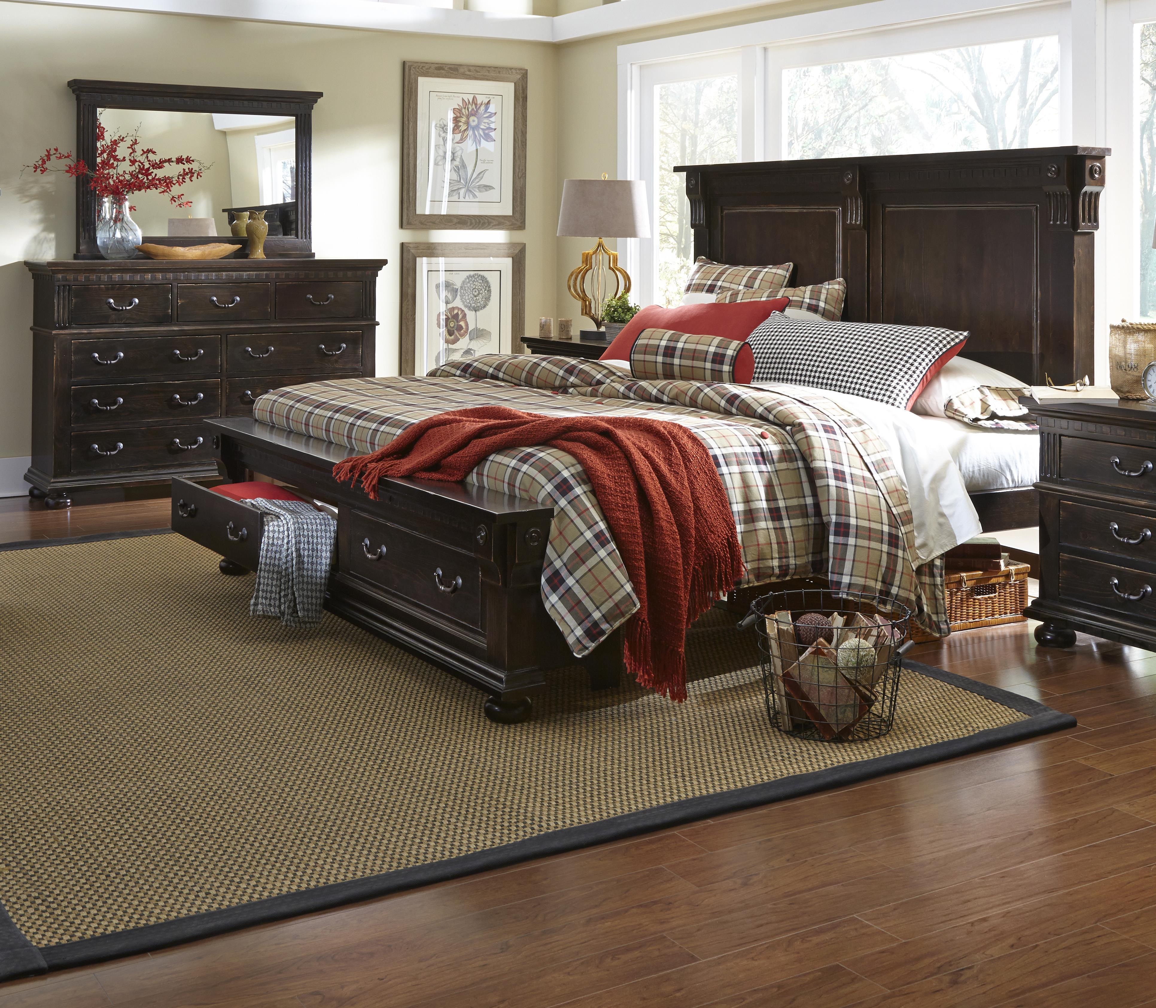 Progressive Furniture La Cantera Queen Bedroom Group - Item Number: P665 Q Bedroom Group 2
