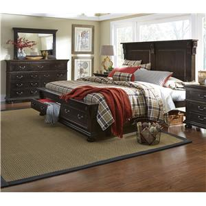Progressive Furniture La Cantera King Bedroom Group