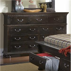 Progressive Furniture La Cantera Drawer Dresser