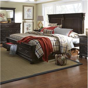 Progressive Furniture La Cantera Queen Storage Bed