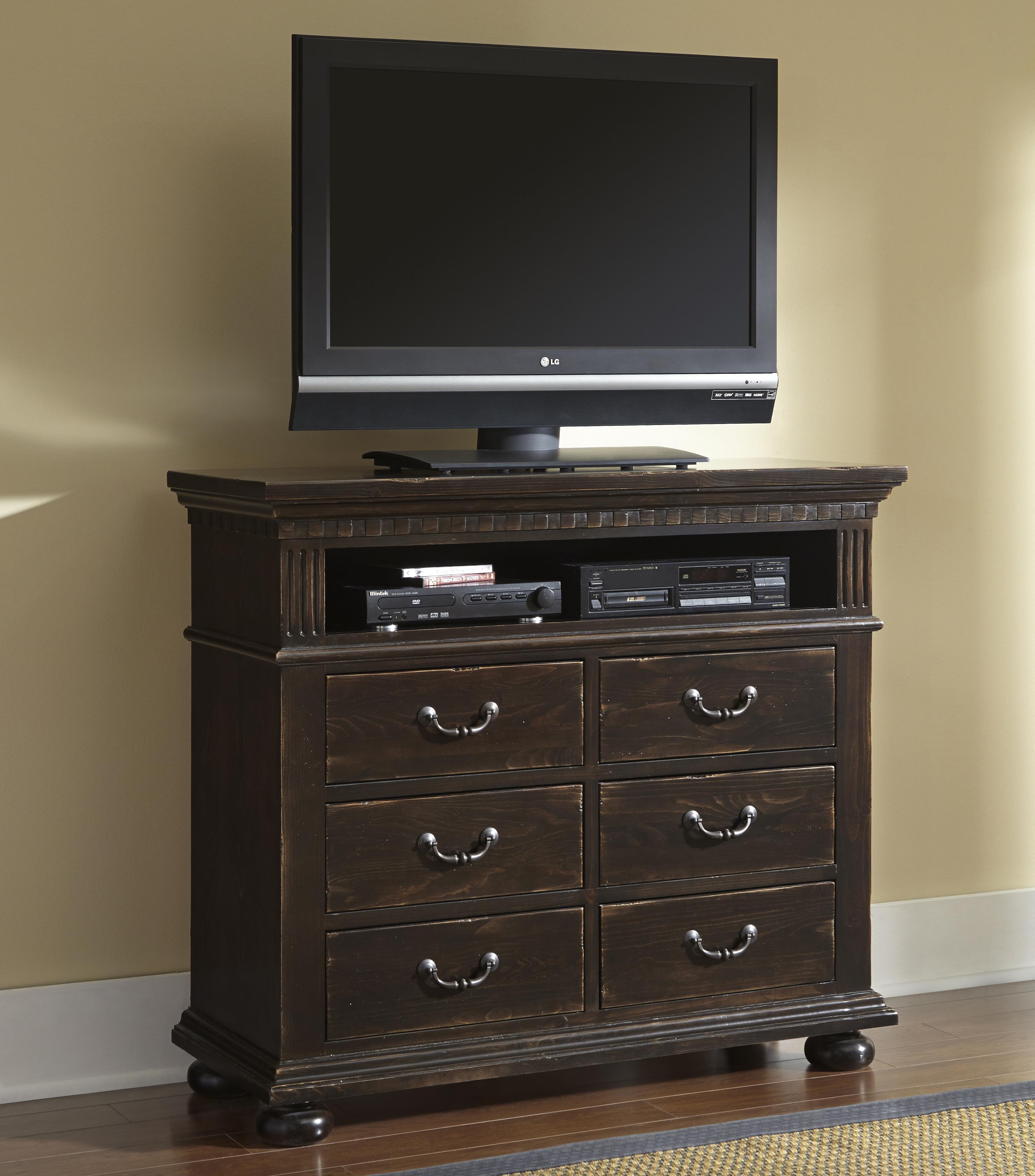 Progressive Furniture La Cantera Media Chest - Item Number: P665-46