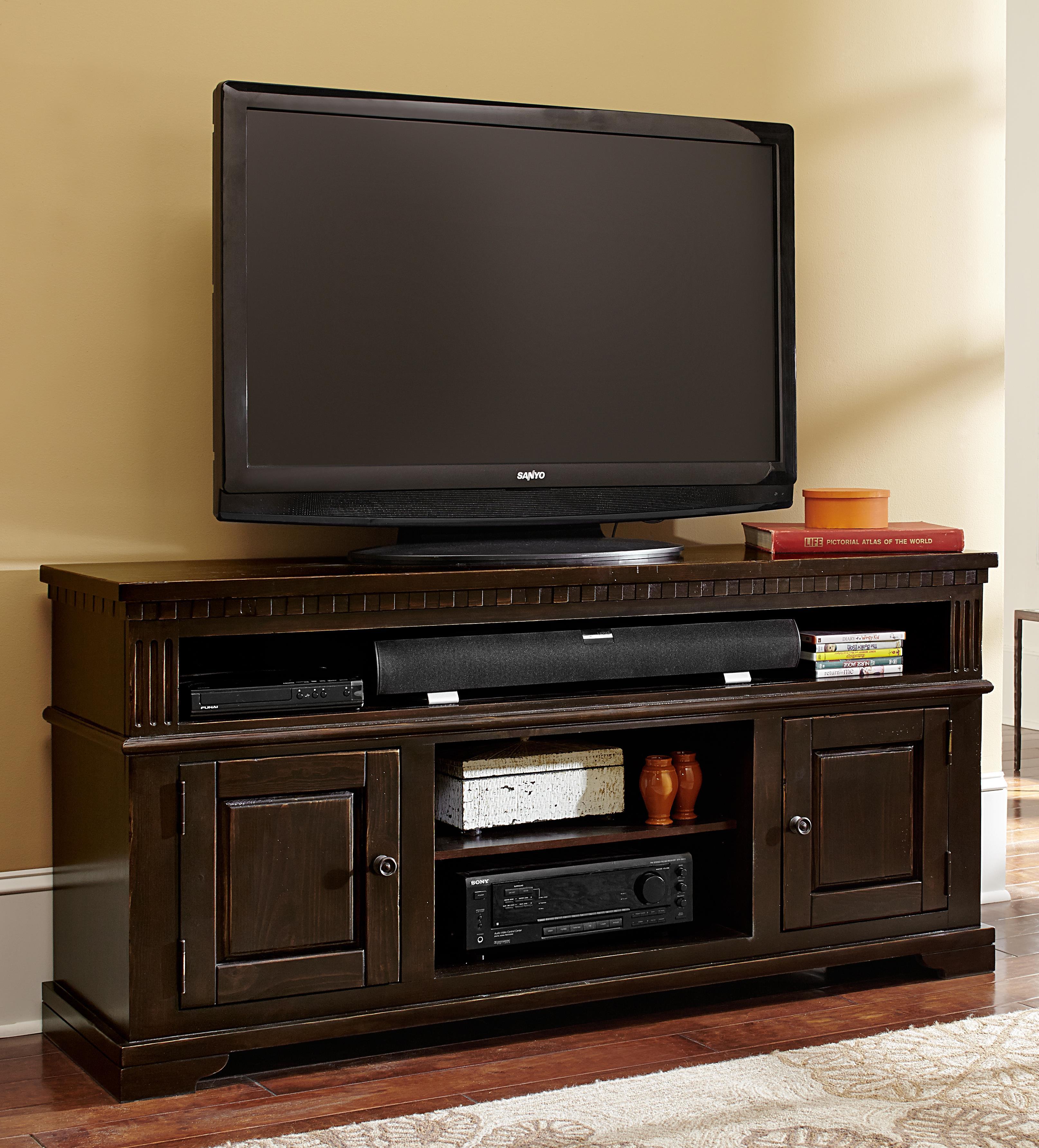 """Progressive Furniture La Cantera 64"""" Console - Item Number: P665E-64"""