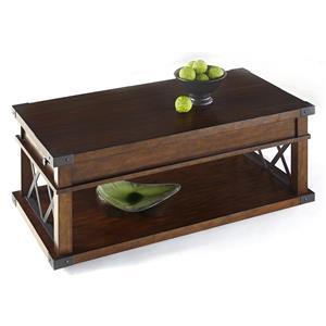 Progressive Furniture Landmark Castered Cocktail Table