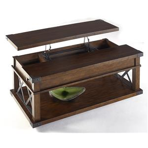 Progressive Furniture Landmark Castered Lift-Top Cocktail Table