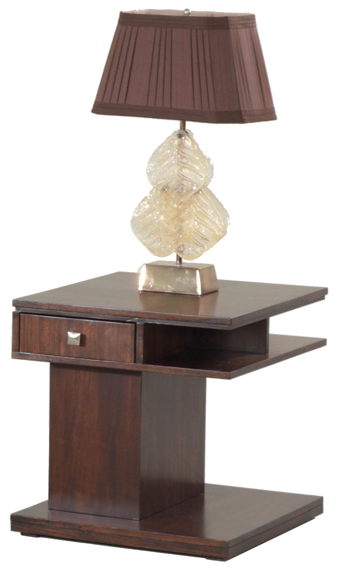 Progressive Furniture Le Mans Rectangular End Table - Item Number: P561-04