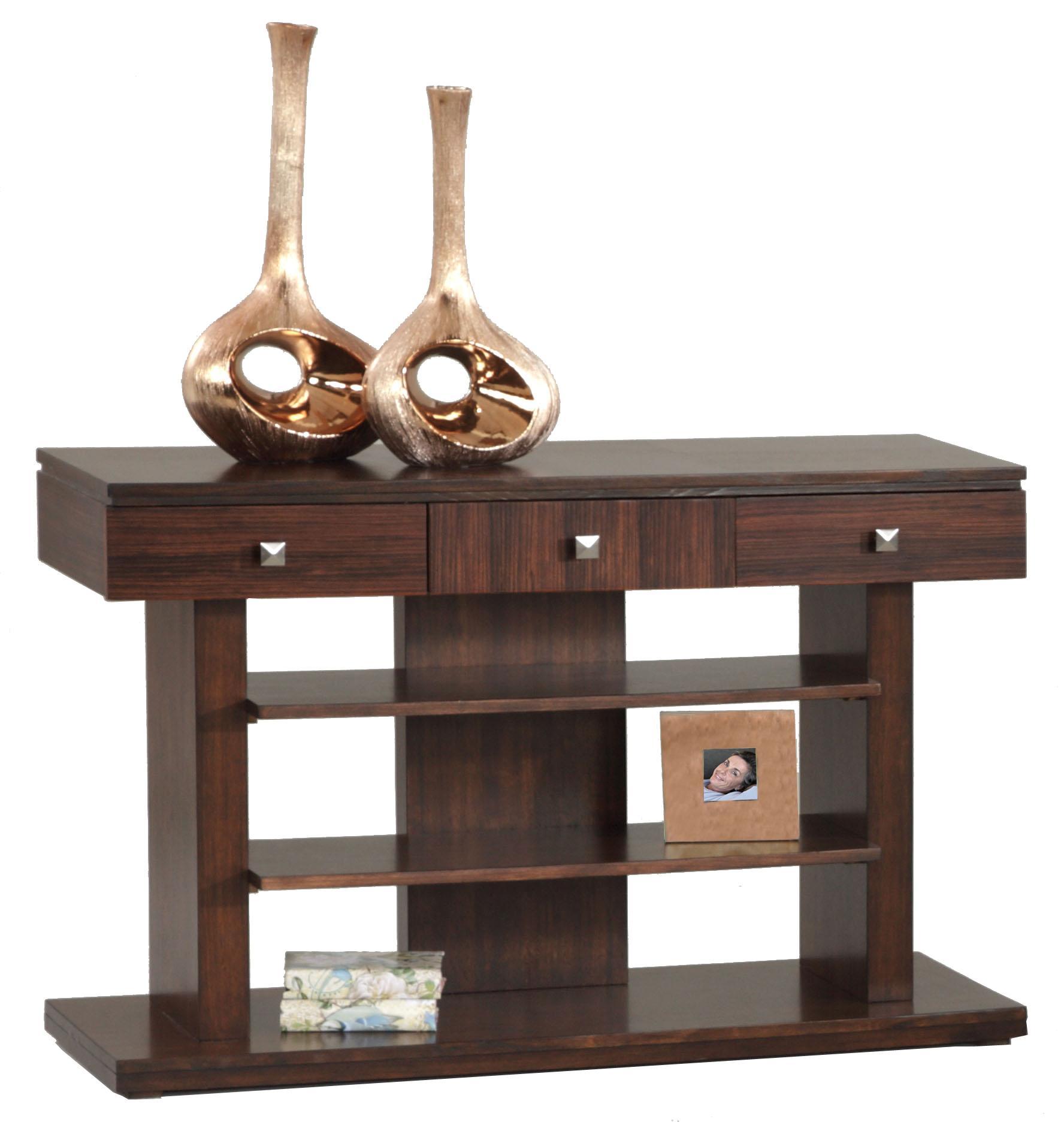 Progressive Furniture Le Mans Sofa/Console Table - Item Number: P561-05
