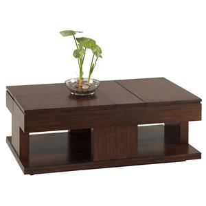 Progressive Furniture Le Mans Double Lift Top Cocktail Table