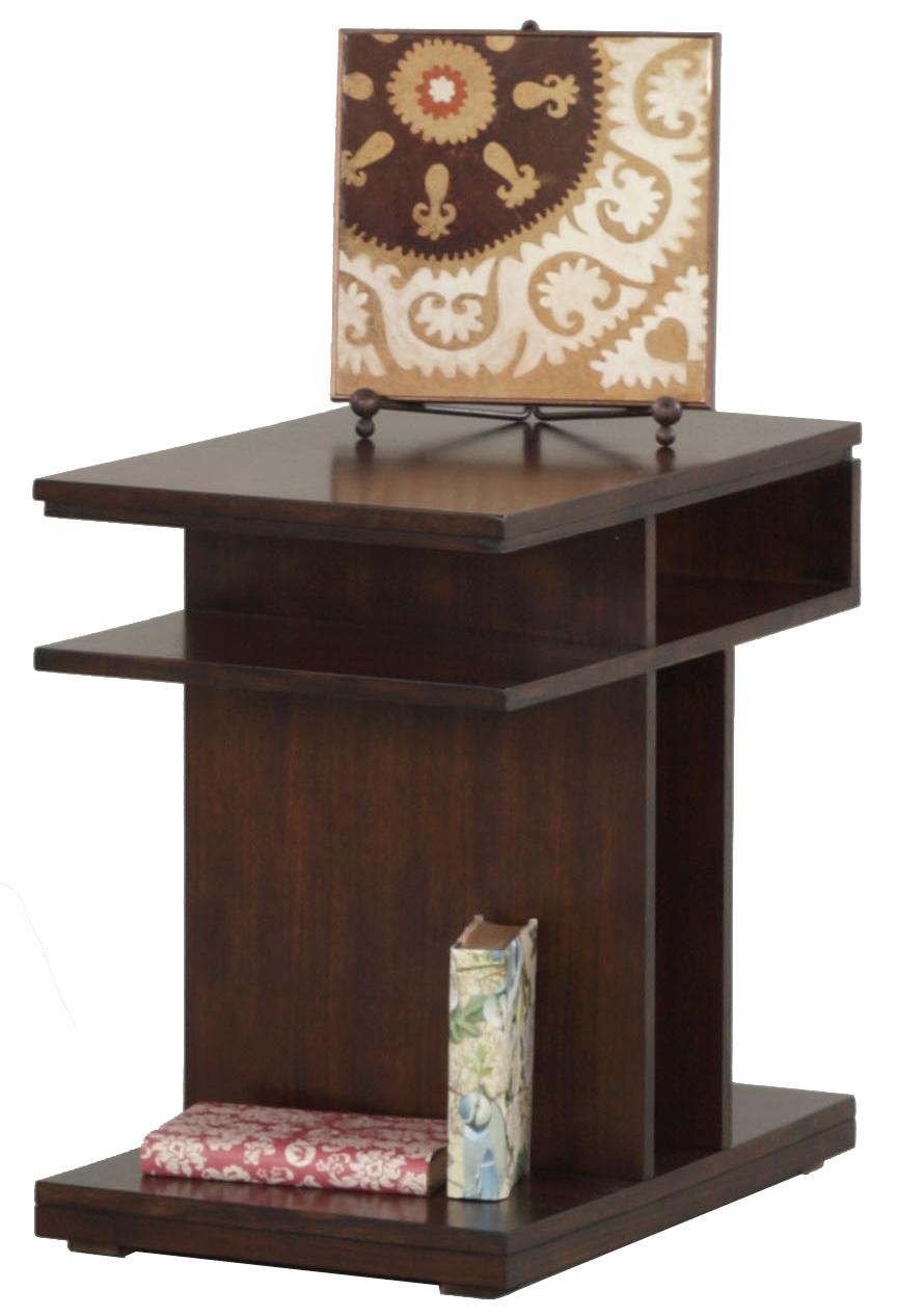 Progressive Furniture Le Mans Chairside Table - Item Number: P561-29