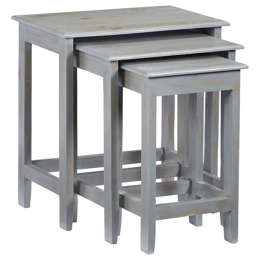 3-Piece Nesting Table Set