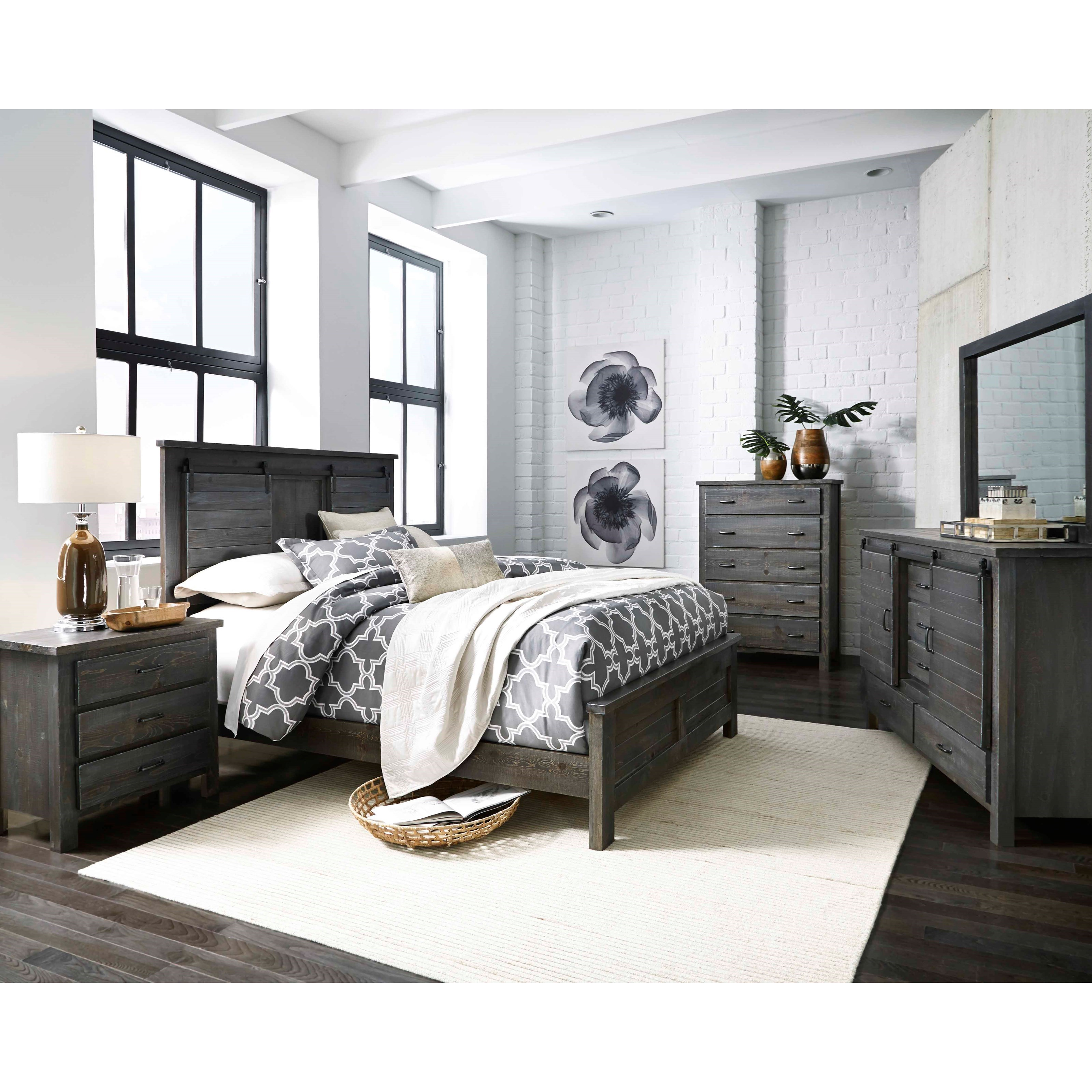 Direct Bedroom Furniture: Progressive Furniture Lucerne Queen Bedroom Group