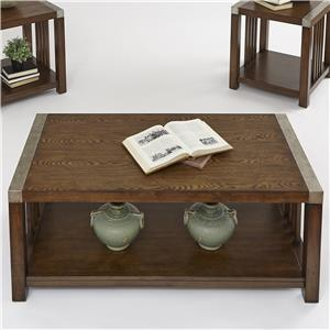 Progressive Furniture Mason Hills Rectangular Cocktail Table