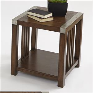 Progressive Furniture Mason Hills Rectangular End Table