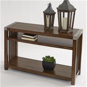 Progressive Furniture Mason Hills Sofa/Console Table